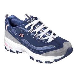 Women's Skechers D'Lites New Journey Sneaker Navy/Gray