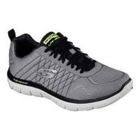 Men's Skechers Flex Advantage 2.0 Training Shoe Light Gray/Black