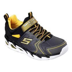 Boys' Skechers Gunray Air Protium Sneaker Black/Charcoal/Yellow