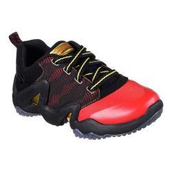 Boys' Skechers Rapid Train High Impact Sneaker Red/Black