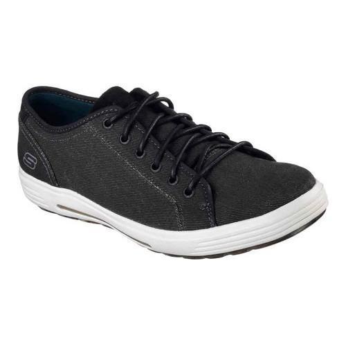 Men's Skechers Relaxed Fit Porter Meteno Sneaker Black