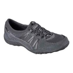 Women's Skechers Relaxed Fit Breathe Easy Moneybags Slip On Sneaker Charcoal