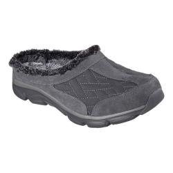 Women's Skechers Relaxed Fit Comfy Living Chillax Clog Charcoal