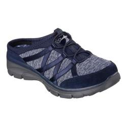 Women's Skechers Relaxed Fit Easy Going Rolling Sneaker Clog Navy