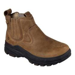 Men's Skechers Relaxed Fit Holdren Volsent Chelsea Boot Light Brown