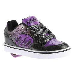 Children's Heelys Motion Plus Roller Shoe Black/Purple/Galaxy