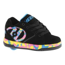 Children's Heelys Propel 2.0 Black/Pink/Blue/Confetti