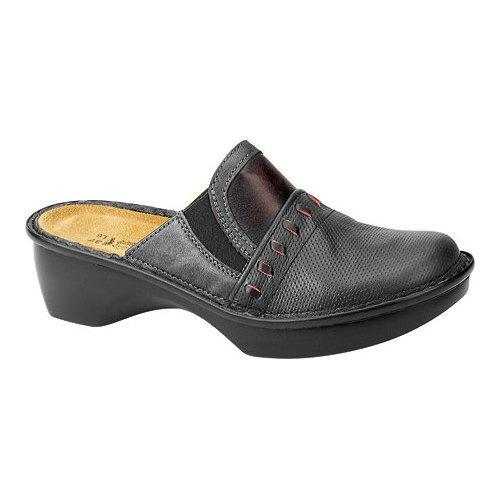 c9f34c11a1 Shop Women's Naot Recife Onyx/Shadow Gray/Volcanic Red Leather/Nubuck - Free  Shipping Today - Overstock.com - 13175578