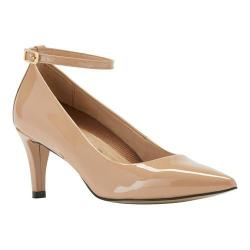 Women's Walking Cradles Sideline Pump Nude Patent Leather