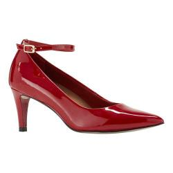 Women's Walking Cradles Sideline Pump Red Patent Leather