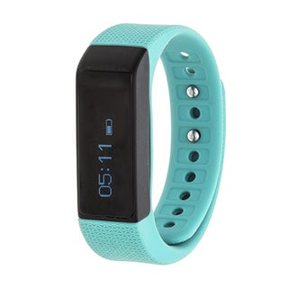 RBX Active Turquoise TR2 Waterproof Bluetooth Activity Tracker W/ Touchscreen Watch