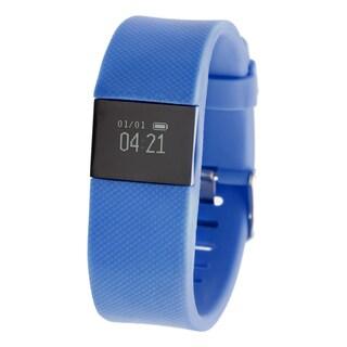 Everlast TR8 Navy Blue Bluetooth Activity Tracker w/ Heart Rate Monitor
