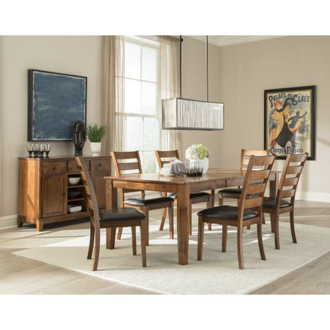 Kona Brandy 42x60-78 Butterfly Dinette Table - Brown