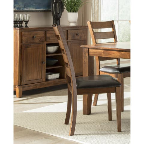 Kona Brandy Ladderback Dining Chairs (Set of 2)