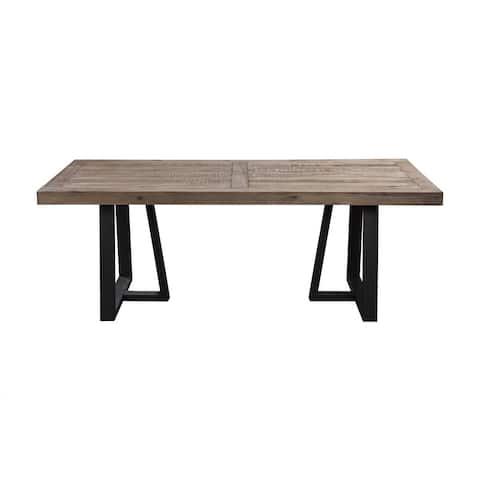 Alpine Prairie Rectangular Dining Table - N/A