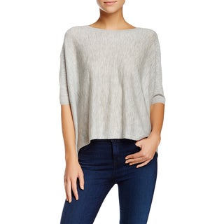 J Brand Women's Ingrid Heather Gray Cashmere Sweater