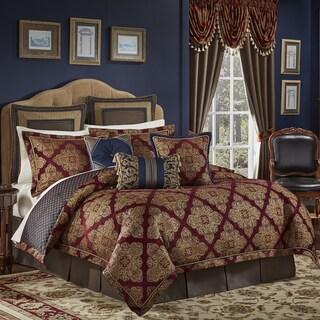 Croscill Sebastian Chenille Jacquard Woven Medallion 4 Piece Comforter Set (2 options available)