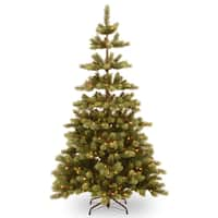 Woodland Carolina Pine 7.5-foot PowerConnect Tree With Clear Lights