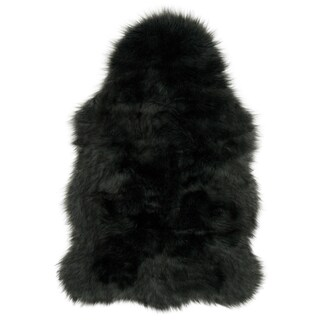 Faux Fur Two-toned Textured Shag Rug (2' x 3') - 2' x 3' (4 options available)