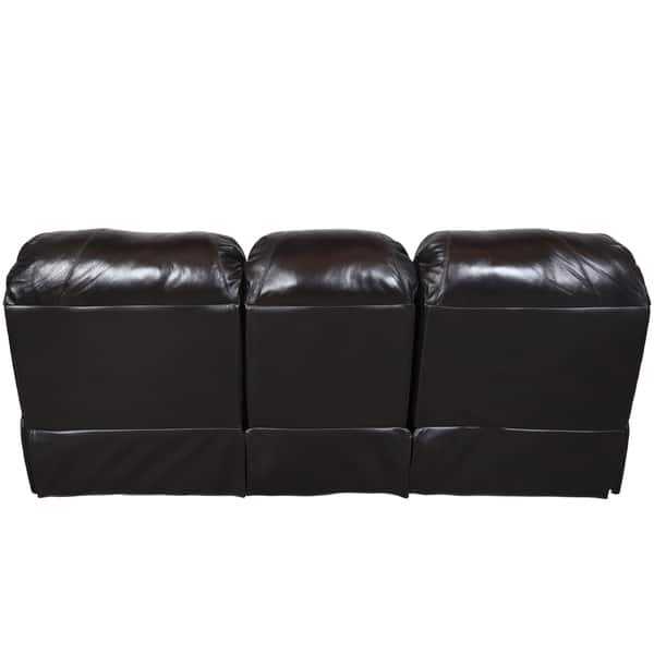Admirable Shop Porter Ramsey Black Cherry Top Grain Leather Power Dual Andrewgaddart Wooden Chair Designs For Living Room Andrewgaddartcom