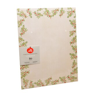 Gartner Studios Holiday Pine Red, Green, and White Paper Stationery (Case of 80)|https://ak1.ostkcdn.com/images/products/13000586/P19745298.jpg?_ostk_perf_=percv&impolicy=medium