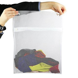 Mesh Laundry Bag with Zipper Closure (Set of 2)