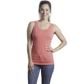 Modbod Women's Cotton and Spandex Tank Top