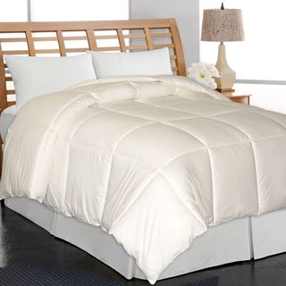 Elle Home Eco Unbleached Cotton Down Alternative Comforter