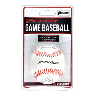 Franklin 1570 Leather Official League Game Baseball
