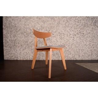 Mid-century Norwegian Modern Ashtree Armless Chair