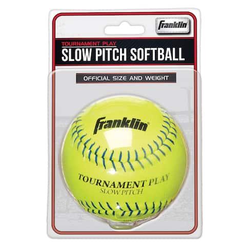 "Franklin 10983 12"" Slow Pitch Tournament Softball"