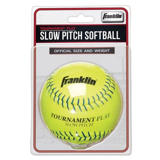 "Franklin 10983 12"" Slow Pitch Tournament Softball"