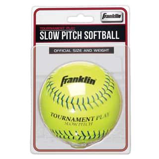 "Franklin 10983 12"" Slow Pitch Tournament Softball|https://ak1.ostkcdn.com/images/products/13000904/P19745603.jpg?impolicy=medium"