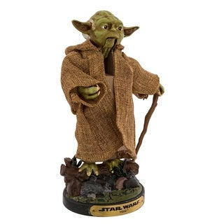 Kurt Adler 12-Inch Star Wars Hollywood Yoda Nutcracker