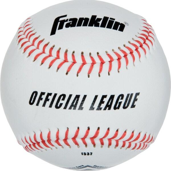 """Franklin 1532 9"""" Rubber & Cork Official League Syntex Baseball"""