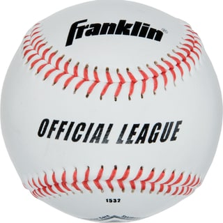 "Franklin 1532 9"" Rubber & Cork Official League Syntex Baseball"