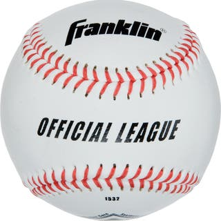 "Franklin 1532 9"" Rubber & Cork Official League Syntex Baseball|https://ak1.ostkcdn.com/images/products/13000920/P19745605.jpg?impolicy=medium"