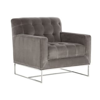 ALEXANDRIA ARMCHAIR - GIOTTO GREY FABRIC