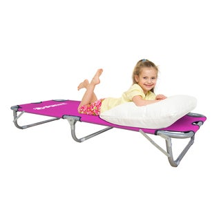 Gigatent Pink Junior Folding Camping Cot