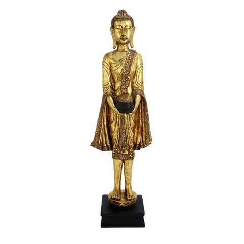 Studio 350 PS Floor Buddha 16 inches wide, 54 inches high
