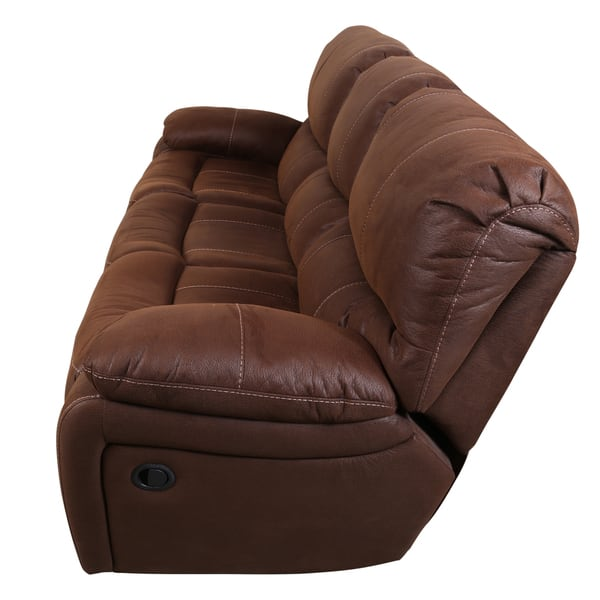 Enjoyable Shop Porter Ramsey Brown Embossed Microfiber Dual Power Gamerscity Chair Design For Home Gamerscityorg