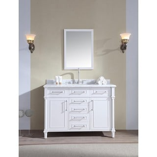 Ari Kitchen and Bath Ani 48-inch Single Bathroom Vanity Set - White