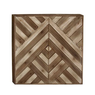 Benzara Striking Wood Wall Decor