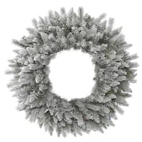 Sable Pine 36-inches 240 Tips Frosted Wreath