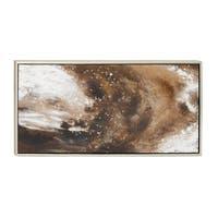 Galaxy Framed Canvas Art