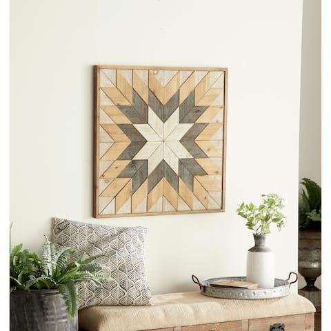 Geometric Wood Wall Decor by Studio 350