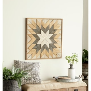 Benzara Elegant Wood Wall Decor