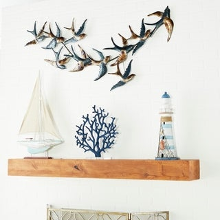 Benzara Incredible Metal Bird Wall Decor