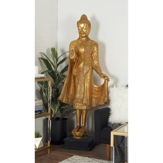 Benzara Gorgeous PS Floor Buddha