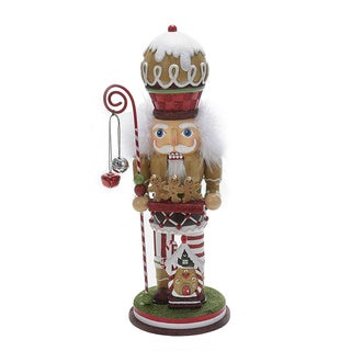 Kurt Adler 15.75-Inch Gingerbread Cookie Nutcracker